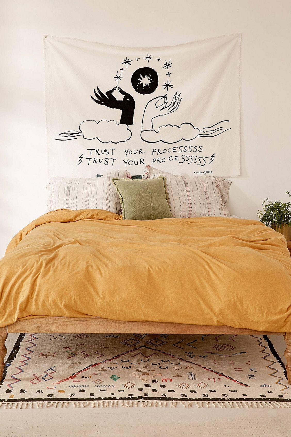 Incredible Yellow Aesthetic Bedroom Decorating Ideas 24 Decoredo