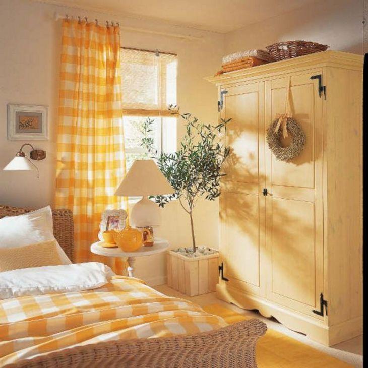 10+ Incredible Yellow Aesthetic Bedroom Decorating Ideas ... on Room Decor Aesthetic id=39619