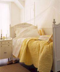 Incredible Yellow Aesthetic Bedroom Decorating Ideas 39
