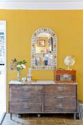 Incredible Yellow Aesthetic Bedroom Decorating Ideas 47