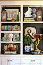 Inspiration Styling Bookshelf Ideas 11