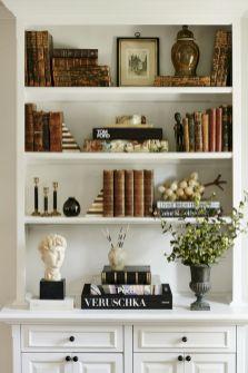Inspiration Styling Bookshelf Ideas 15