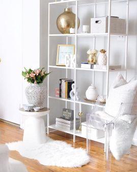 Inspiration Styling Bookshelf Ideas 17