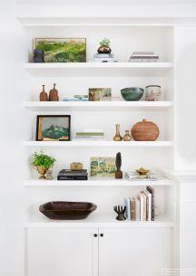 Inspiration Styling Bookshelf Ideas 21
