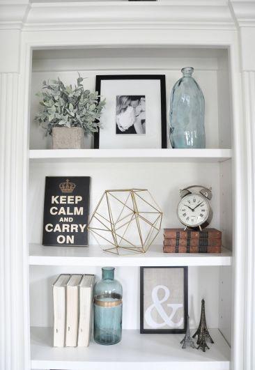 Inspiration Styling Bookshelf Ideas 38
