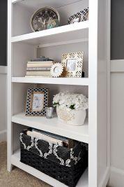 Inspiration Styling Bookshelf Ideas 44