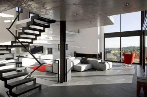 Interior Design Open Space House