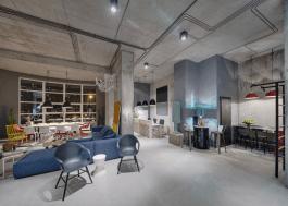 Modern Industrial Office Space Design
