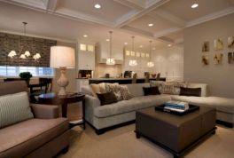 Open Kitchen Living Room Combo