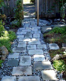 RiverRocks Path Garden