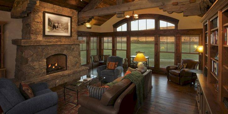 Rustic Cabin Living Room
