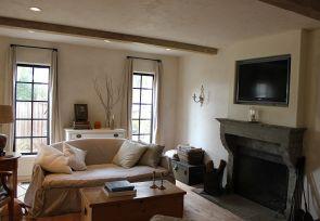Rustic Farmhouse Fireplace