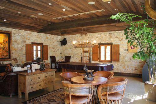 Rustic Hacienda Style Interiors
