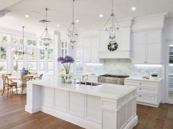 Hamptons Style White Kitchens Idea
