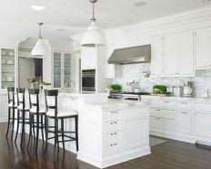 Hamptons Style White Kitchens