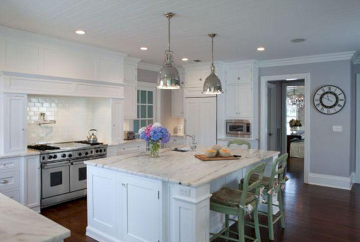 Hamptons Styles White Kitchen