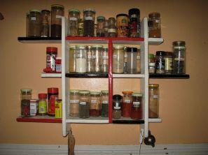 Homemade Spice Rack Ideas