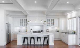Modern Hampton Style Kitchens