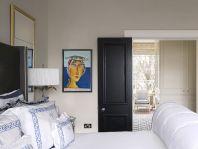White Eclectic Bedroom Design Ideas