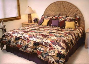 eclectic bohomian bedroom