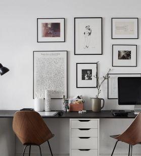 Beautiful Home Office Design 123