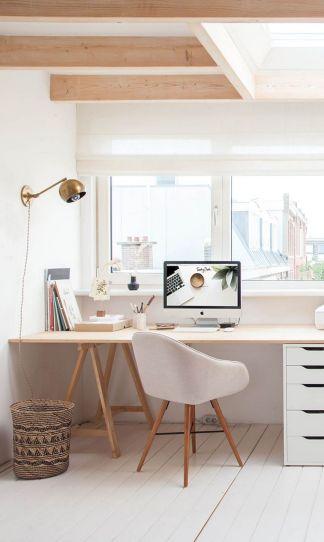 Beautiful Home Office Design 17