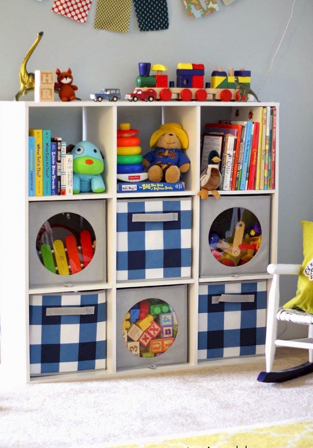 DIY Toy Storage For Small Spaces 13 - DECOREDO