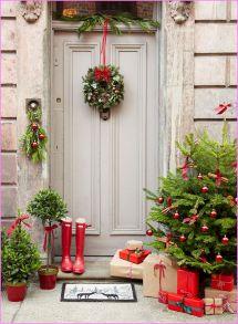 Door Christmas Decoration ideas