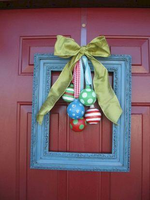 Door Christmas Decorations Ideas