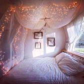 Fairy Lights Bedroom Design Ideas