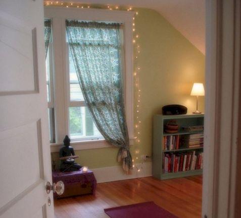 Fairy Lights Bedroom Window