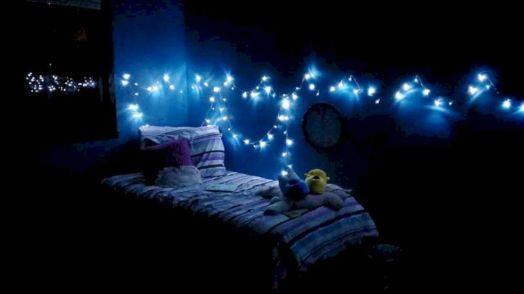 Fairy Lights Bedrooms