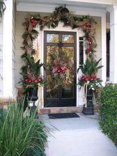 Front Door Christmas Decorating Design Ideas