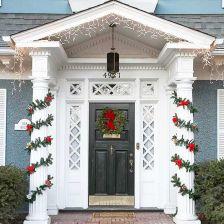 Front Door Christmas Decoration