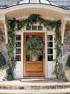 Front Door Christmas Decors