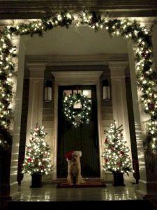 Front Porch Christmas Light Ideas