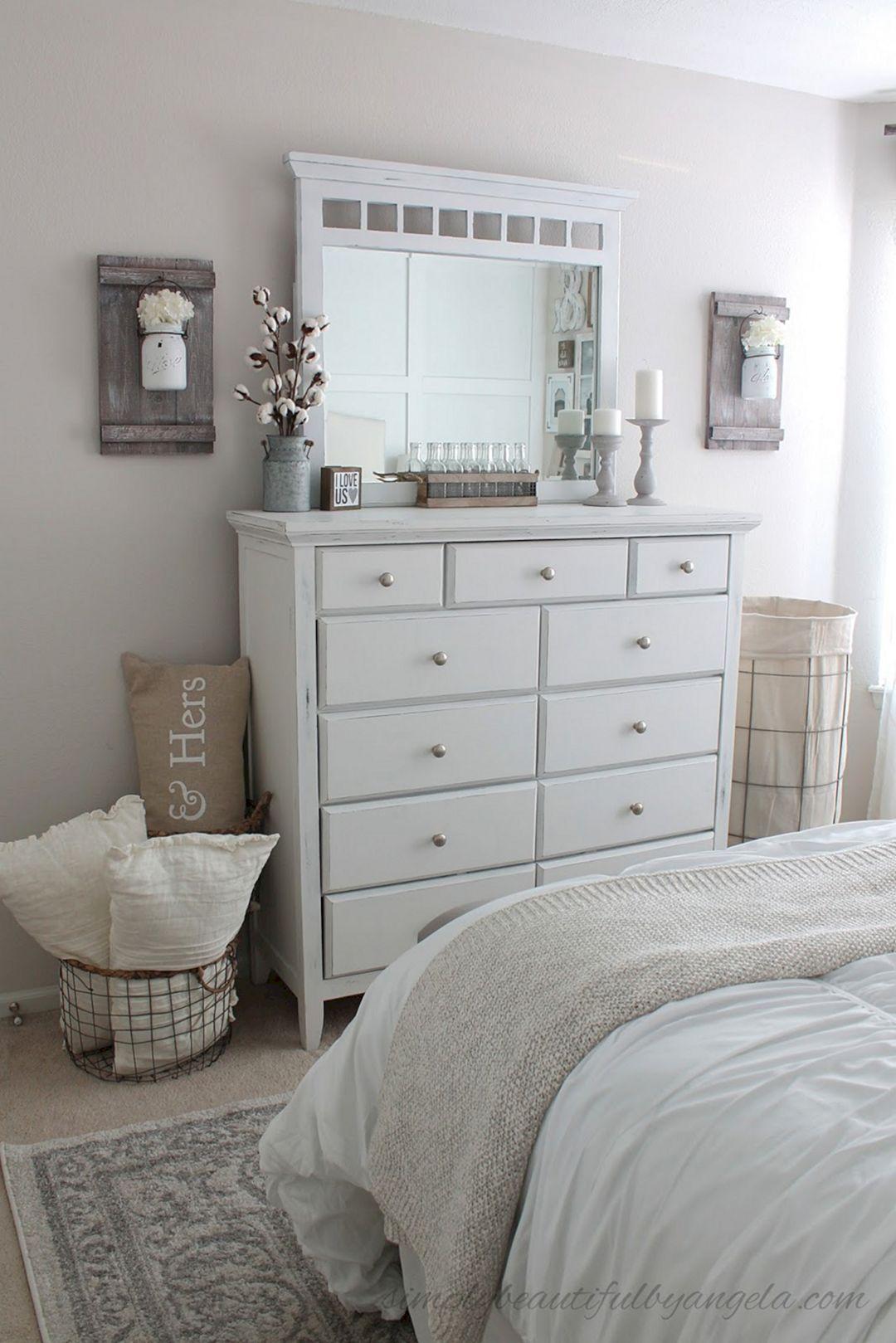 Rustic Farmhouse Style Master Bedroom Ideas 14 - DECOREDO on Master Bedroom Farmhouse Bedroom Images  id=83096