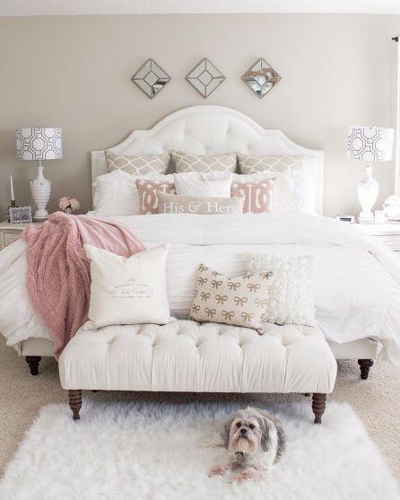 Rustic Farmhouse Style Master Bedroom Ideas 26