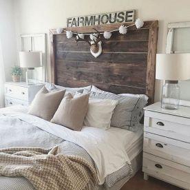 Rustic Farmhouse Style Master Bedroom Ideas 6