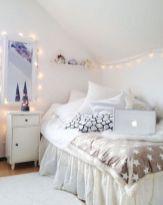 White Fairy Light Bedroom Tumblr