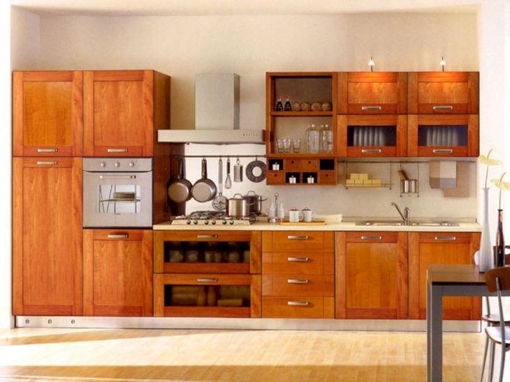 wooden kitchen cabinets design ideas