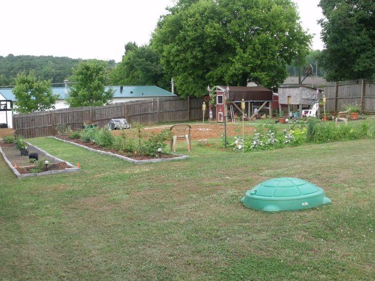 Back Yard Homestead Garden Designs