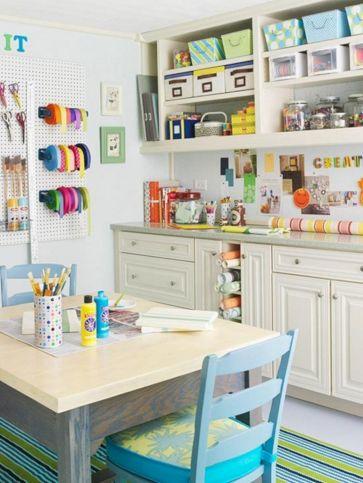 Beautiful Craft Room Storage Ideas