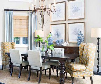 Blue Dining Room Decorating Ideas