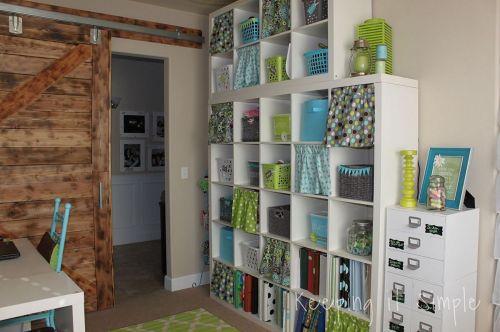 Craft Room Storage Design Ideas
