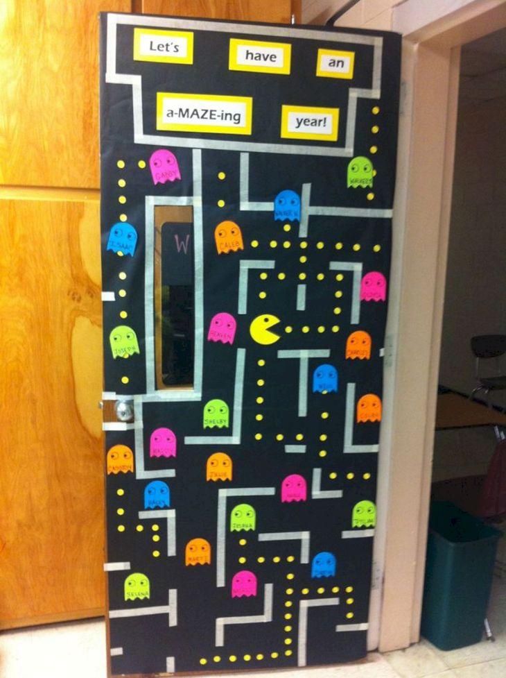 Creative Classroom Door Decorations