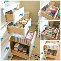 Creative Craft Room Storage Idea
