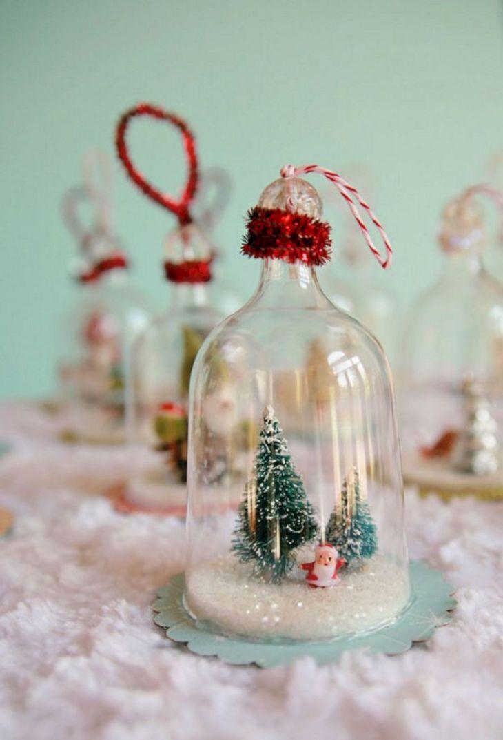 DIY Christmas Glass Ornament Ideas