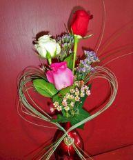 Flower Valentine Arrangement