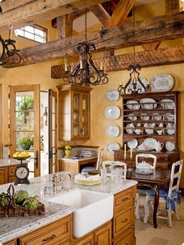 French Country Farmhouse Kitchen